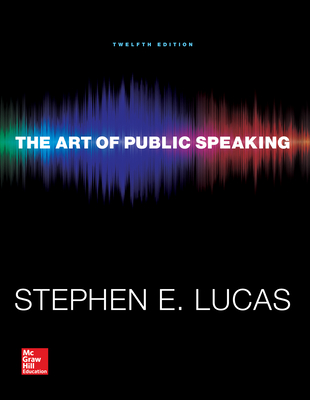 The Art of Public Speaking - Lucas, Stephen E