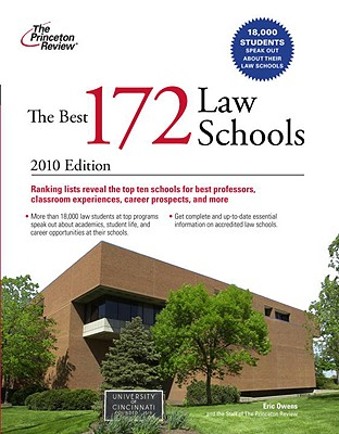 The Best 172 Law Schools - Princeton Review, and Owens, Eric, Esq