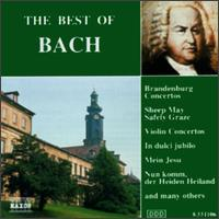 The Best of Bach [Naxos] - Alexander Jablokov (violin); Hideo Nishizaki (violin)