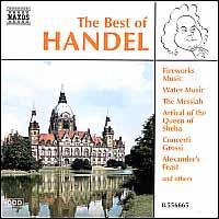 The Best of Handel - Budapest Strings; Capella Istropolitana; Johann Aratore (organ); Jozef Cejka (oboe); Miroslav Kejmar (trumpet);...