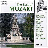 The Best of Mozart - Capella Istropolitana; Concentus Hungaricus; Ernst Ottensamer (clarinet); Herbert Weissberg (flute); Jenö Jandó (piano);...