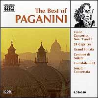 The Best of Paganini - Gerald Garcia (guitar); Ilya Kaler (violin); Moshe Hammer (violin); Norbert Kraft (guitar); Scott St. John (violin);...