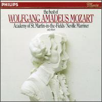 The Best of Wolfgang Amadeus Mozart - Academy of St. Martin-in-the-Fields; Alan Harverson (organ); Alfred Brendel (piano); Anthony Woodrow (double bass);...