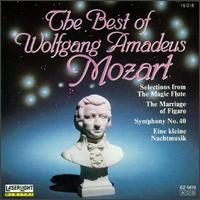 The Best of Wolfgang Amadeus Mozart - Danielle Dechenne (piano); Dezsö Ránki (piano); Hermann Prey (baritone); Josef Protschka (tenor); Maria Zadori (soprano);...