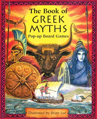 The Book of Greek Myths Pop-up Board Games -