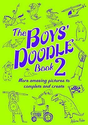The Boys' Doodle Book 2 -