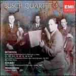 The Busch Quartet Performs Beethoven, Schubert and Mendelssohn