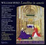 The Byrd Edition, Vol. 10: Laudibus in sanctis