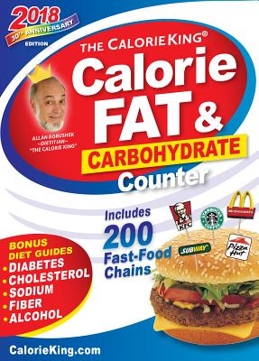 The Calorieking Calorie, Fat & Carbohydrate Counter - Borushek, Allan