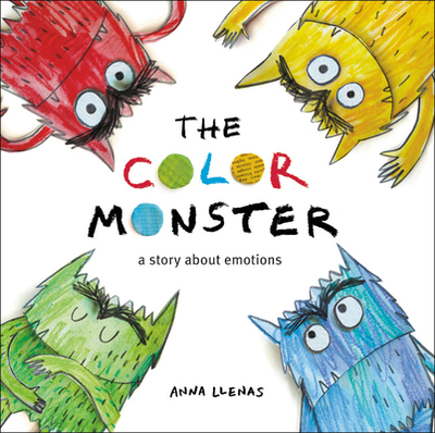 The Color Monster: A Story about Emotions - Llenas, Anna