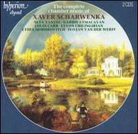 The Complete Chamber Music of Xaver Scharwenka - Colin Carr (cello); Garbis Atmacayan (cello); Ivo Jan van der Werff (viola); Levon Chilingirian (violin);...