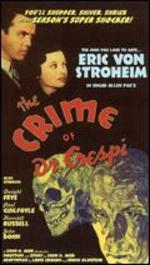 The Crime of Dr. Crespi - John H. Auer