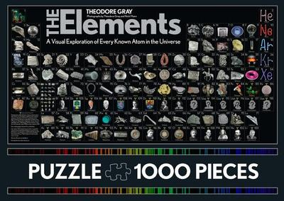 The Elements Puzzle: 1000 Pieces - Gray, Theodore