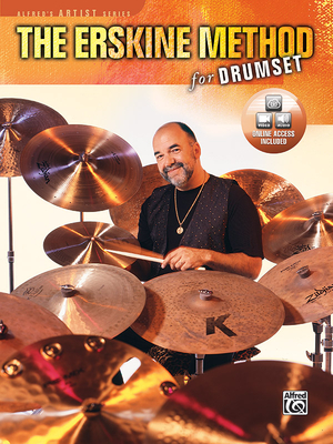 The Erskine Method for Drumset: Book & DVD - Erskine, Peter