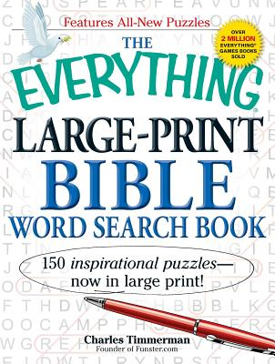 The Everything Large-Print Bible Word Search Book - Timmerman, Charles