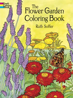 The Flower Garden Coloring Book - Soffer