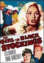 The Girl in Black Stockings