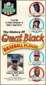 The History of Great Black Baseball Players