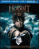 The Hobbit: The Battle of the Five Armies [3D] [Blu-ray/DVD]