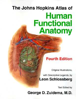 The Johns Hopkins Atlas of Human Functional Anatomy - Schlossberg, Leon, Professor, and Zuidema, George D, Dr.