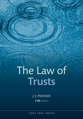 The Law of Trusts - Penner, JE