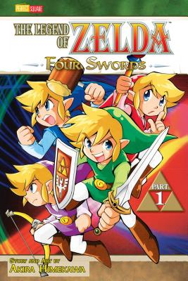 The Legend of Zelda: Four Swords, Part 1 - Himekawa, Akira (Illustrator)