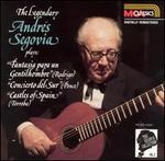 The Legendary Andr?s Segovia plays Fantasia para un Gentilhombre, Concierto del Sur, Castles of Spain