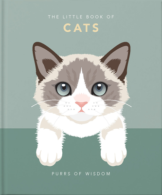 The Little Book of Cats: Purrs of Wisdom - Orange Hippo!