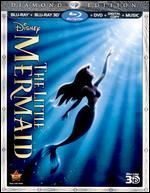 The Little Mermaid [Diamond Edition] [3D] [3 Discs] [Blu-ray/DVD] [Includes Digital Copy]