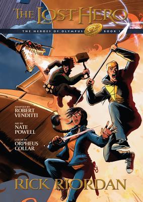 The Lost Hero - Riordan, Rick, and Venditti, Robert