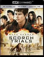 The Maze Runner: The Scorch Trials [4K Ultra HD Blu-ray/Blu-ray] [Includes Digital Copy]