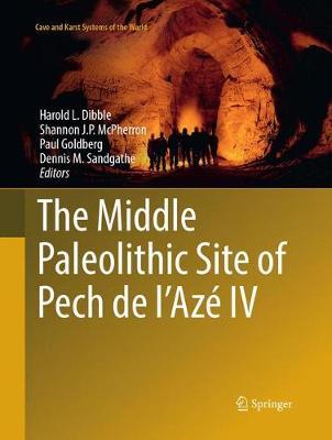 The Middle Paleolithic Site of Pech de l'Aze IV - Dibble, Harold L. (Editor), and McPherron, Shannon J. P. (Editor), and Goldberg, Paul (Editor)