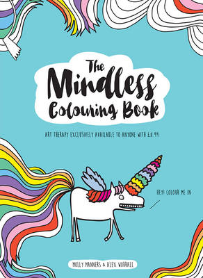 The Mindless Colouring Book - Manners, Molly, and Worrall, Alex