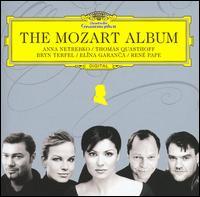 The Mozart Album - Anna Netrebko (vocals); Bryn Terfel (vocals); Christine Rice (vocals); Christoph Strehl (vocals); Elina Garanca (vocals); Erika Miklósa (vocals); Miah Persson (vocals); René Pape (vocals); Thomas Quasthoff (vocals)