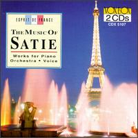 The Music of Satie: Orchestra, Piano, Voice - Elaine Bonazzi (mezzo-soprano); Ensemble Die Reihe; Frank Glazer (piano); Millard Taylor (violin); Richard Deas (piano);...
