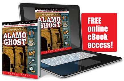 The Mystery of the Alamo Ghost - Marsh, Carole