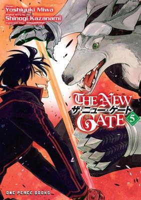 The New Gate Volume 5 - Miwa, Yoshiyuki, and Kazanami, Shinogi