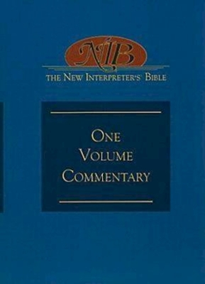 The New Interpreter's(r) Bible One-Volume Commentary - Gaventa, Beverly R (Editor), and Petersen, David L (Editor), and Bartlett, David L (Contributions by)