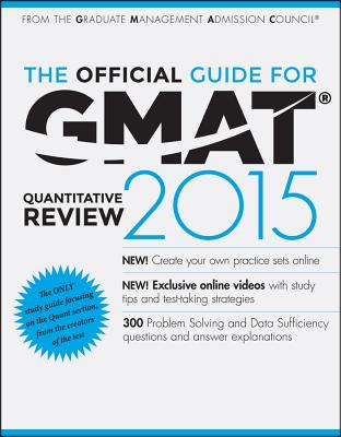 The Official Guide for GMAT Quantitative Review - Graduate Management Admission Council