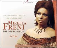 The Opera Album - Franco Bonisolli (tenor); Gudrun Schäfer (soprano); Mirella Freni (soprano); Sesto Bruscantini (baritone);...