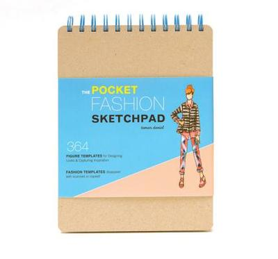 The Pocket Fashion Sketchpad: 380 Figure Templates for Designing Looks & Capturing Inspiration - Daniel, Tamar