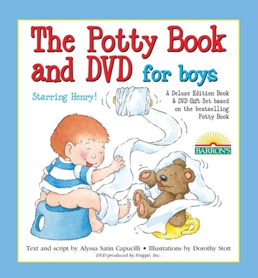 The Potty Book and DVD for Boys Starring Henry! Gift Set - Capucilli, Alyssa Satin
