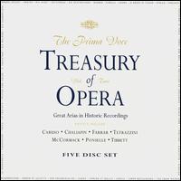 The Prima Voce Treasury of Opera, Vol. 2 - Alexander Kipnis (bass); Alma Gluck (soprano); Amelita Galli-Curci (soprano); Beniamino Gigli (tenor);...