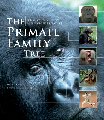 The Primate Family Tree: The Amazing Diversity of Our Closest Relatives - Redmond, Ian, and Goodall, Jane, Dr., PhD (Preface by)