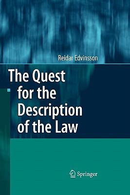 The Quest for the Description of the Law - Edvinsson, Reidar
