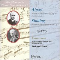 The Romantic Piano Concerto, Vol. 19 - Alnæs & Sinding - Piers Lane (piano); Bergen Philharmonic Orchestra; Andrew Litton (conductor)