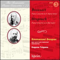 The Romantic Piano Concerto, Vol. 77: Bronsart, Urspruch - Emmanuel Despax (piano); BBC Scottish Symphony Orchestra; Eugene Tzigane (conductor)