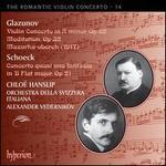 The Romantic Violin Concerto, Vol. 14: Alexander Glazunov & Othmar Schoeck
