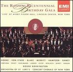 The Rossini Bicentennial Birthday Gala