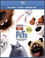 The Secret Life of Pets [Includes Digital Copy] [Blu-ray/DVD]